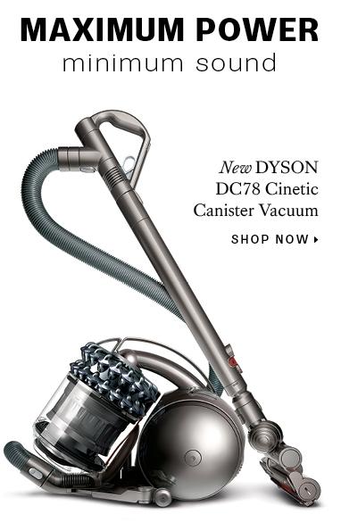 New Dyson Vacuum