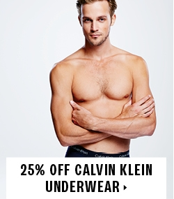 25% off CALVIN KLEIN underwear