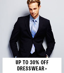 Up to 30% off dresswear