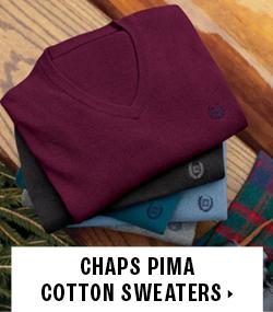 Chaps Pima Sweaters