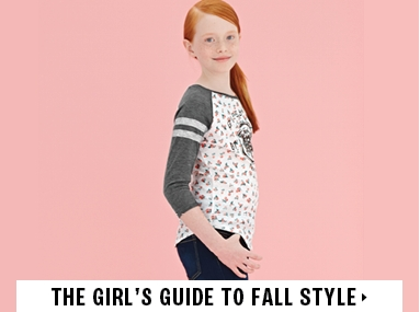 GIRLS FALL STYLE GUIDE