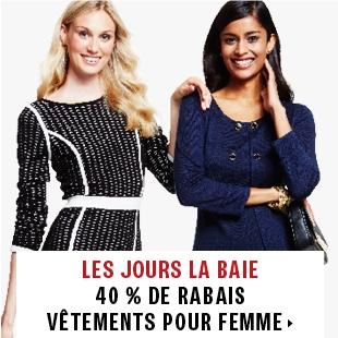 40% off women's fashions