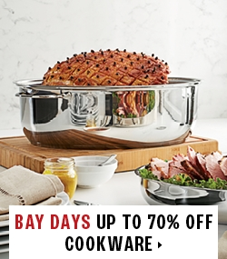 up to 70% off cookware