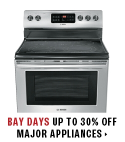 up to 25% off major appliances