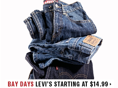 Levis starting at $14.99