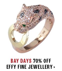 70% off all EFFY fine jewellery
