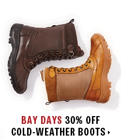 30% off cold weather boots