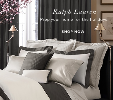 RALPH LAUREN Prepping Home for Holidays