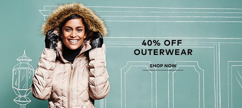 40% off outerwear offer