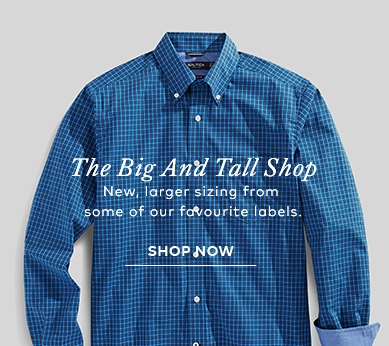 Shop Big and Tall