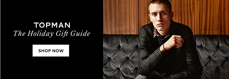 Shop Topman Holiday Gift Guide