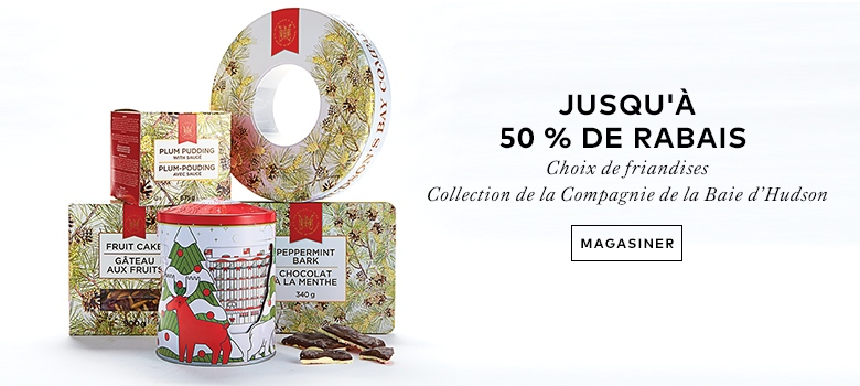 40% OFF SELECT ITEMS BY Hudson's Bay Company confectionery