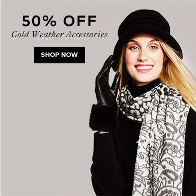40% off Women's Cold Weather Accessories