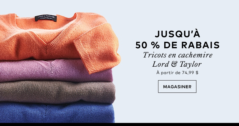 Lord and Taylor Sweater Sale