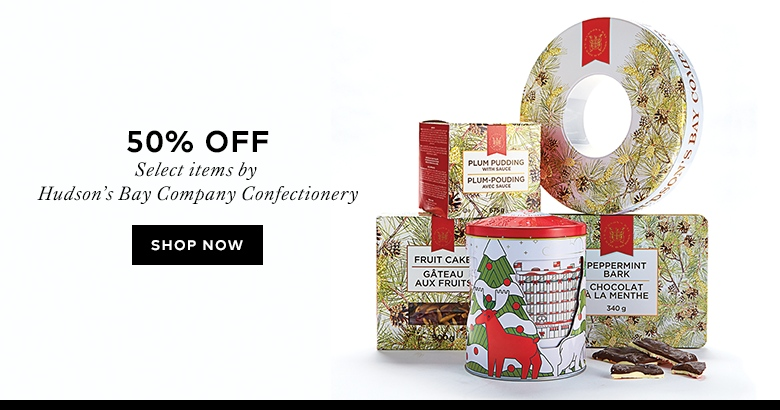Save 50% Hudson's Bay Company Confectionery