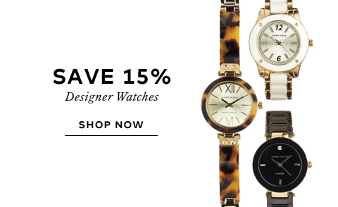 Save on Designer Watches