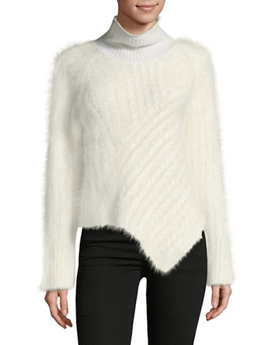Tomorrowland Textured Sweater-WHITE-Small