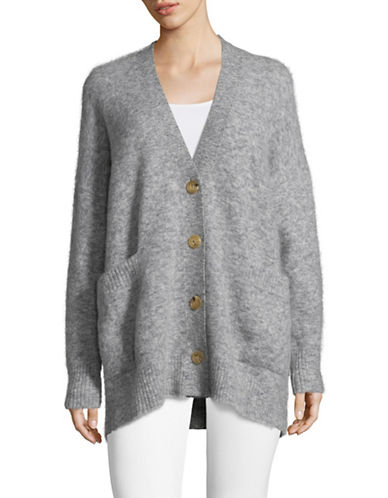 Tomorrowland Slouchy Cardigan-GREY-Small