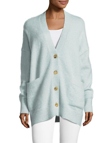 Tomorrowland Slouchy Cardigan-GREEN-Small