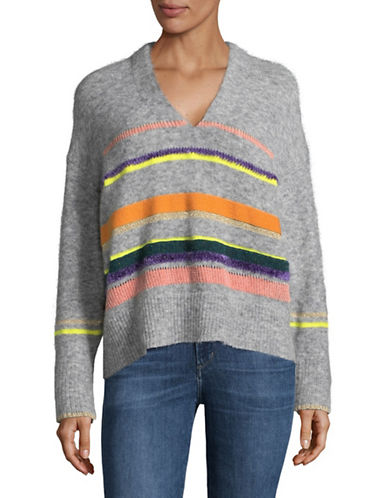Tomorrowland Multi-Colour Stripe Sweater-MULTI-Medium