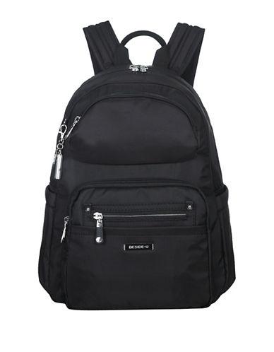 Beside-U Arroyo RFID Travel Backpack-BLACK-One Size