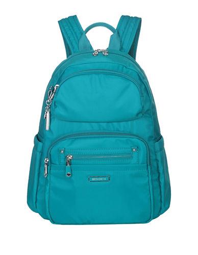 Beside-U Arroyo RFID Travel Backpack-BLUE-One Size