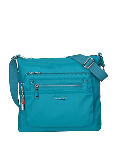 Beside-U Lucia RFID Travel Crossbody Bag-BLUE-One Size