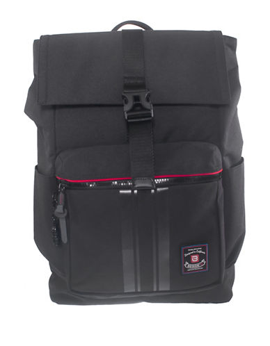 Beside-U Caliper RFID Protection Backpack-BLACK-One Size