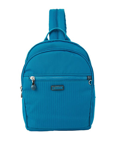 Beside-U Luna RFID Protection Backpack-BRIGHT BLUE-One Size