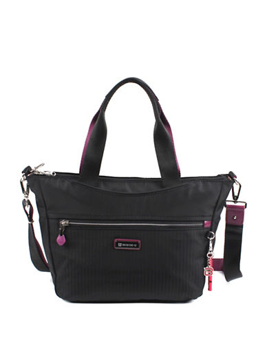 Beside-U Ellie RFID Protection Tote-BLACK-One Size 89263905_BLACK_One Size