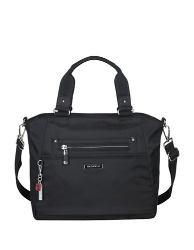 Beside-U Bellamy Lia RFID Protection Tote-BLACK-One Size