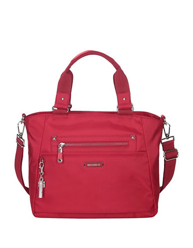 Beside-U Bellamy Lia RFID Protection Tote-RED-One Size