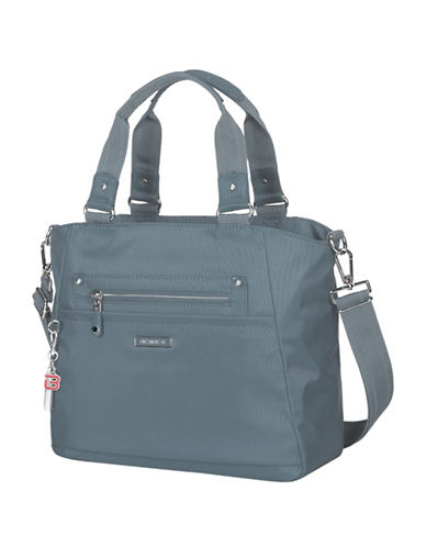 Beside-U Bellamy Lia RFID Protection Tote-BLUE-One Size