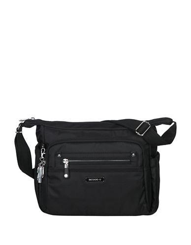 Beside-U Grenada RFID Protection Crossbody Bag-BLACK-One Size
