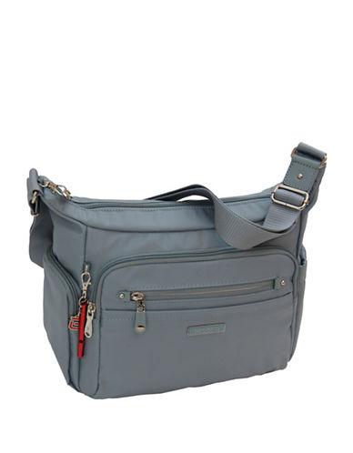 Beside-U Grenada RFID Protection Crossbody Bag-BLUE-One Size