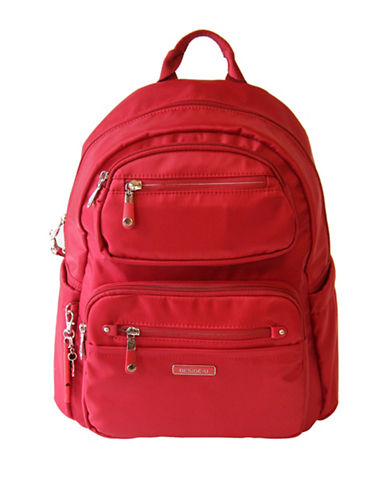 Beside-U Armarillo Lia RFID Protection Backpack-RED-One Size