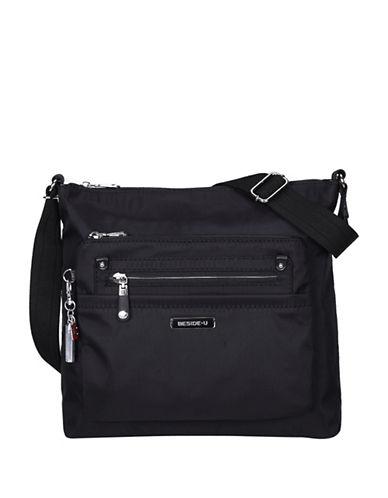 Beside-U Lucia Lia RFID Protection Crossbody Bag-BLACK-One Size