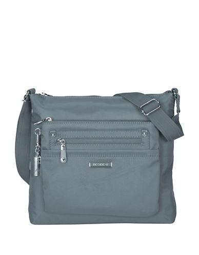 Beside-U Lucia Lia RFID Protection Crossbody Bag-BLUE-One Size