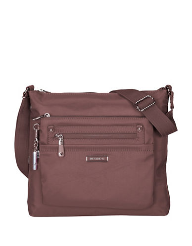 Beside-U Lucia Lia RFID Protection Crossbody Bag-BEIGE-One Size
