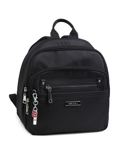 Beside-U Balboa Lia RFID Protection Backpack-BLACK-One Size