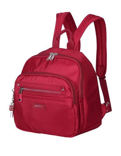Beside-U Balboa Lia RFID Protection Backpack-RED-One Size
