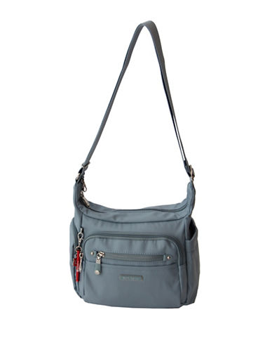 Beside-U Bishop Lia RFID-Protected Crossbody Bag-BLUE-One Size