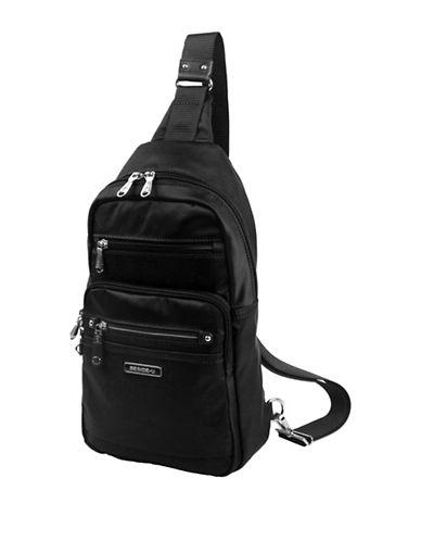 Beside-U Abbott Lia RFID Protection Sling Backpack-BLACK-One Size