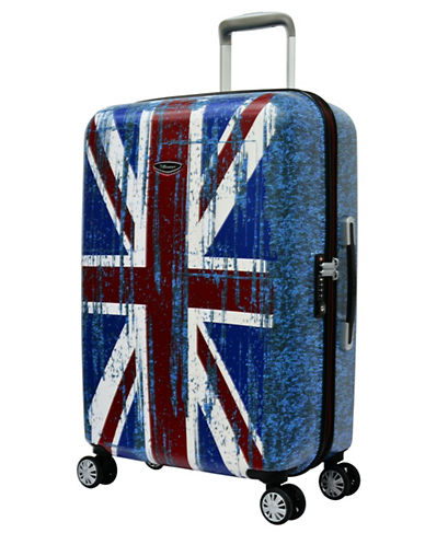 Eminent Flag 26-Inch Trolley Bag-BLUE-24