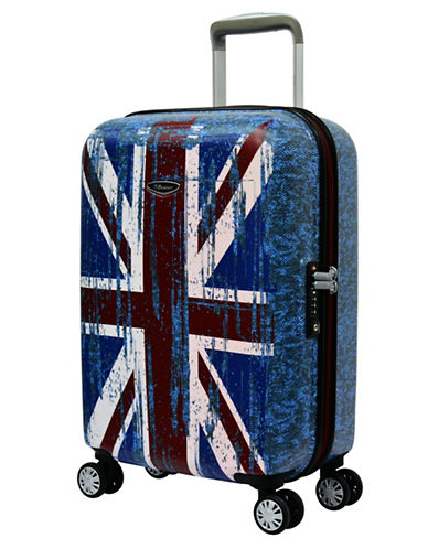 Eminent Flag 22-Inch Trolley Bag-BLUE-20