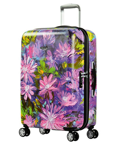 Eminent Bloom 26-Inch Trolley Bag-PINK-24
