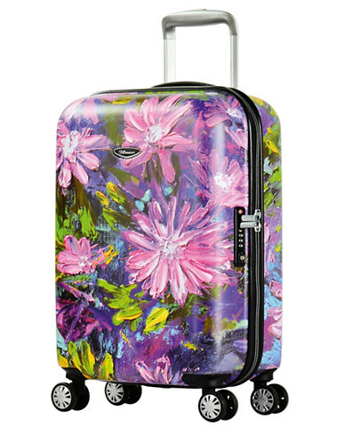 Eminent Bloom 22-Inch Trolley Bag-PINK-20