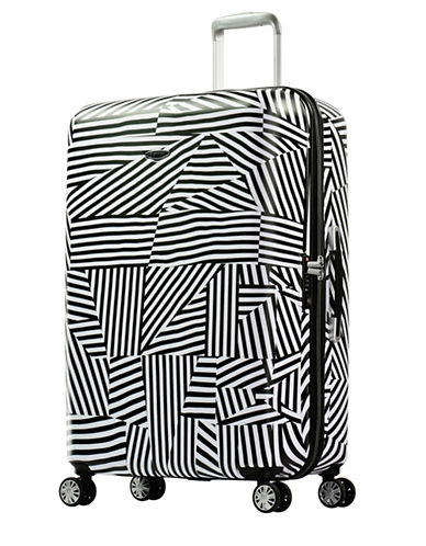 Eminent Graphic-Printed 30-Inch Trolley Bag-WHITE-28