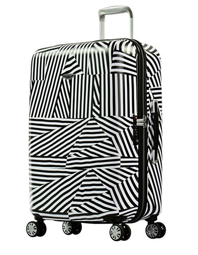 Eminent Graphic-Printed 26-Inch Trolley Bag-WHITE-24