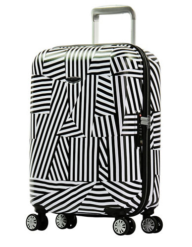 Eminent Graphic-Printed 22-Inch Trolley Bag-WHITE-20